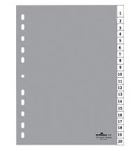 Разделитель листов Durable А4, 20 разделов, 6443-10