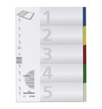Разделитель листов Durable 5 разделов А4, 6730-27