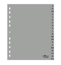 Разделитель листов Durable 20 разделов А4, по алфавиту A-Z, 6520-10