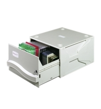 Короб для CD/DVD Durable Multimedia Box II серый на 53/230 дисков, 5257-10