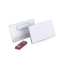 Бейдж магнитный Durable 40х75мм 25шт/уп, 8116-19