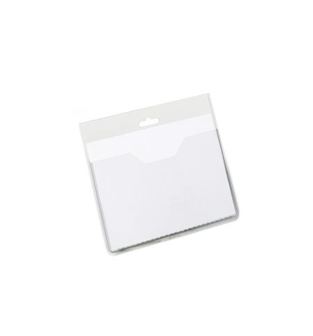 фото: Бейдж без держателя Durable 60х90мм прозрачный, 20шт/уп, 8136-19