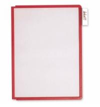 Панель для демосистем Durable А4 красный, 5606-03
