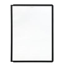 фото: Панель для демосистем Durable Sherpa А4 черная, 5 шт, 5606-01