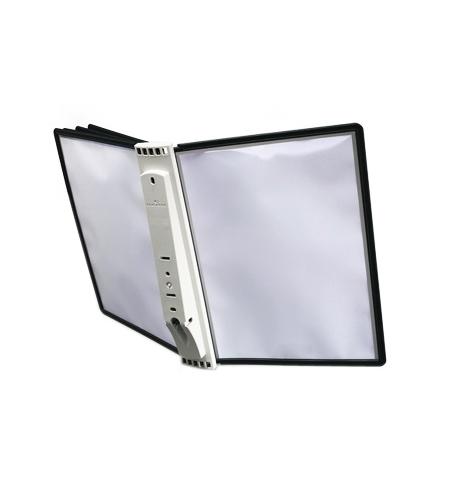 фото: Демосистема настенная Durable Sherpa 5 панелей А4, черная, 5810-01