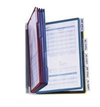 Демосистема настенная Durable Vario 10 панелей А4, ассорти, 5567-00