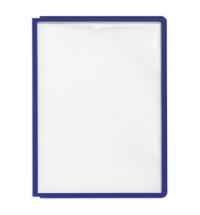 фото: Панель для демосистем Durable А4 синий, 5606-07