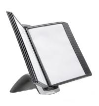 фото: Демосистема настольная Durable Sherpa Style 10 панелей, А4, чёрная, 5855-01
