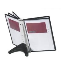 Демосистема настольная Durable Sherpa Soho 5 панелей А4, черный, 5540-01