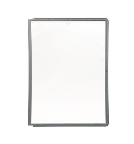 фото: Панель для демосистем Durable А4 графит, 5606-37