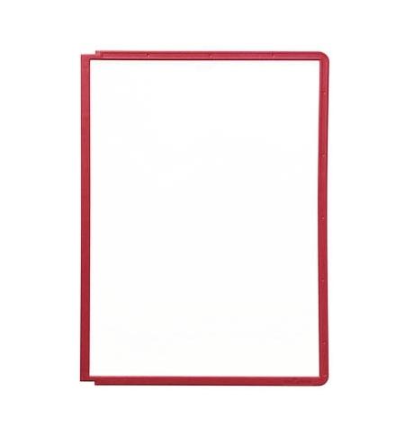 фото: Панель для демосистем Durable Sherpa А4 красная, 5шт, 5606-03
