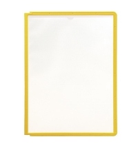 Панель для демосистем Durable Sherpa А4 желтая, 5 шт, 5606-04