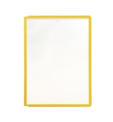фото: Панель для демосистем Durable Sherpa А4 желтая, 5 шт, 5606-04