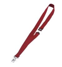 Держатель для бейджей на карабине Durable красный 44см, 10 шт/уп, 8137-03