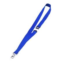 Держатель для бейджей на карабине Durable синий 44см, 10 шт/уп, 8137-07