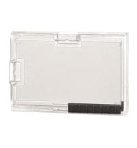 Чехол для пропусков Durable для трех карточек 54х87мм, 10шт/уп, прозрачный