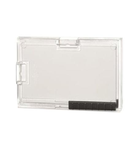 фото: Чехол для пропусков Durable для трех карточек 54х87мм, 10шт/уп, прозрачный