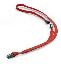Держатель для бейджей с зажимом Durable красный 44см, 10 шт/уп, 8119-03