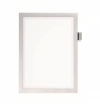 Настенная магнитная рамка Durable Duraframe А4 светло-серая, самоклеящаяся, 4993