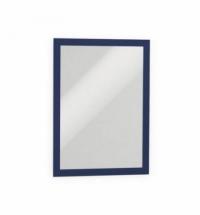 Настенная магнитная рамка Durable Duraframe А4 синяя, самоклеящаяся, 2шт, 4872-07