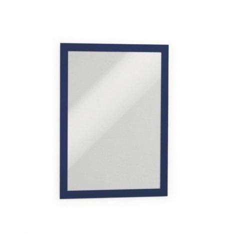 фото: Настенная магнитная рамка Durable Duraframe А4 синяя, самоклеящаяся, 2шт, 4872-07