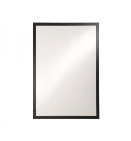 фото: Настенная магнитная рамка Durable Duraframe Poster А2 черная, самоклеющаяся, 4995-01