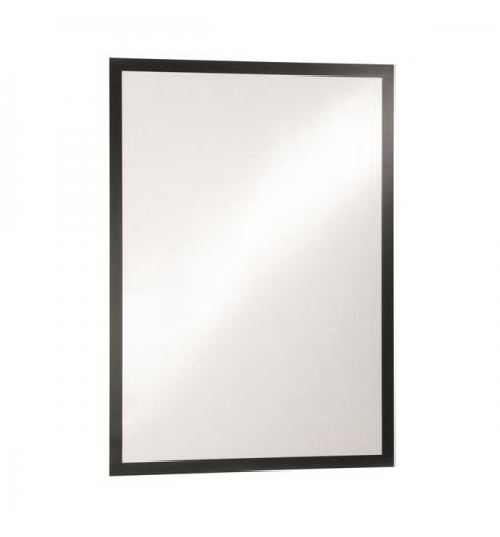 фото: Настенная магнитная рамка Durable Duraframe Poster А1 черная, самоклеющаяся, 4997-01