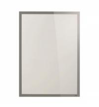 Настенная магнитная рамка Durable Duraframe Poster Sun 50х70см серебристая, антистатическая, для стекла, 5005-23