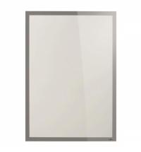Настенная магнитная рамка Durable Duraframe Poster Sun 70х100см серебристая, антистатическая, для стекла, 5007-23