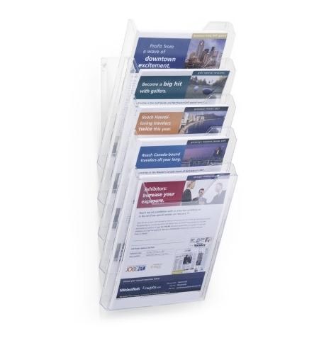 фото: Лоток настольный для буклетов Durable CombiBOXX Set XL А4 5 лотков, 8586-19