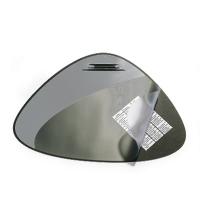 Коврик настольный для письма Durable 51х69см с карманом, черный, 7208-01