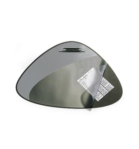 фото: Коврик настольный для письма Durable 51х69см с карманом, черный, 7208-01