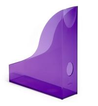 Накопитель вертикальный для бумаг Durable Rack Basic А4 306мм, фиолетовый, 1701712992