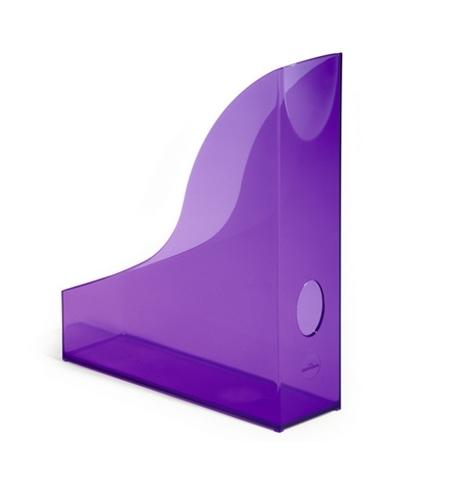 фото: Накопитель вертикальный для бумаг Durable Rack Basic А4 306мм, фиолетовый, 1701712992