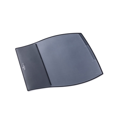 фото: Коврик настольный для письма Durable Desk Pad 39х44см 3 кармана, черный, 7209-01