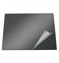 Коврик настольный для письма Durable 52х65см с карманом, черный, 7203-01