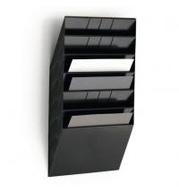 Набор лотков Durable Flexiboxx 348х95х620 мм черные, 6 шт, 1709785060