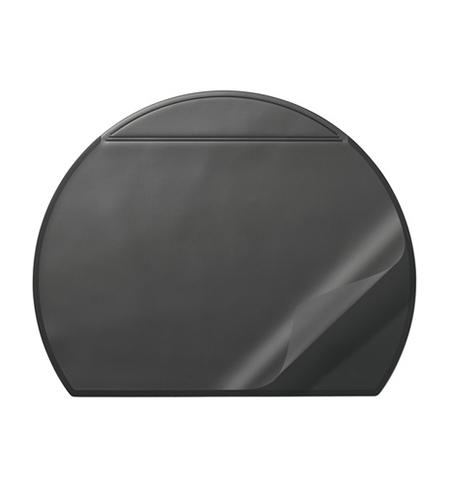 фото: Коврик настольный для письма Durable 52х65см с карманом, черный, 7290-01