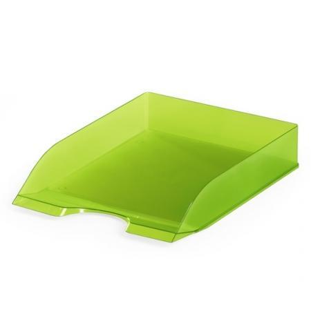 фото: Лоток горизонтальный для бумаг Durable Basic Tray Basic А4, светло-зеленый, 1701673017