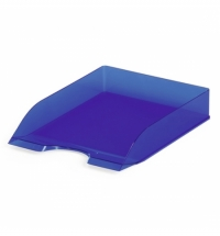 Лоток горизонтальный для бумаг Durable Basic Tray А4 голубой, 1701673540