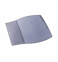 Коврик настольный для письма Durable Desk Pad 39х44см 3 кармана, серый, 7209-10