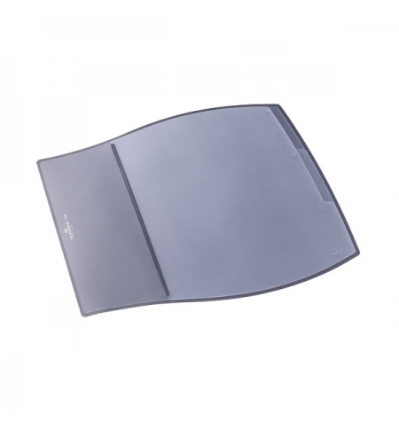 фото: Коврик настольный для письма Durable Desk Pad 39х44см 3 кармана, серый, 7209-10