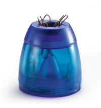 Скрепочница магнитная Durable Trend голубая +100 скрепок, 1709051540