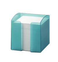 Блок для записей непроклеенный в подставке Durable Trend белый в голубом боксе 90х90мм, 800 листов, 1701682014