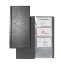 Визитница Durable Visifix на 128 визиток черная, ПВХ, 2308-01