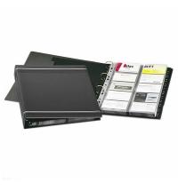 Визитница Durable Visifix на 400 визиток антрацит, ПВХ, 2388-58