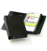 фото: Визитница Durable Visifix Сentium на 200 визиток черная, ПВХ, разделитель A-Z, 2383-01