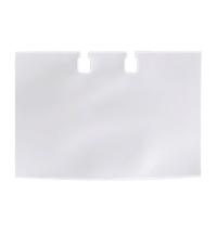 Карманы для картотек Durable Visifix на 40 карточек прозрачные, 104х72мм, 2418-19