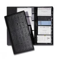 фото: Визитница Durable Visifix Сentium 2403 на 200 визиток черная, 255х145мм, 2403-01