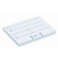 Карточки для визитниц Durable Telindex 100 шт белые, 72х104мм, 2419-02